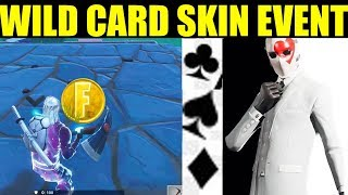 "Fortnite High Stakes Challenges ""How To Unlock Wild Card Skin"" NEW Limited Time Event"