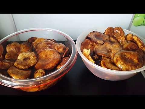 Засолка лесных грибов!Удачный грибной сезон!Холодная закуска на вашем столе!