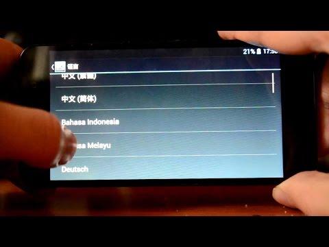 Как включить русский язык на Android-планшете
