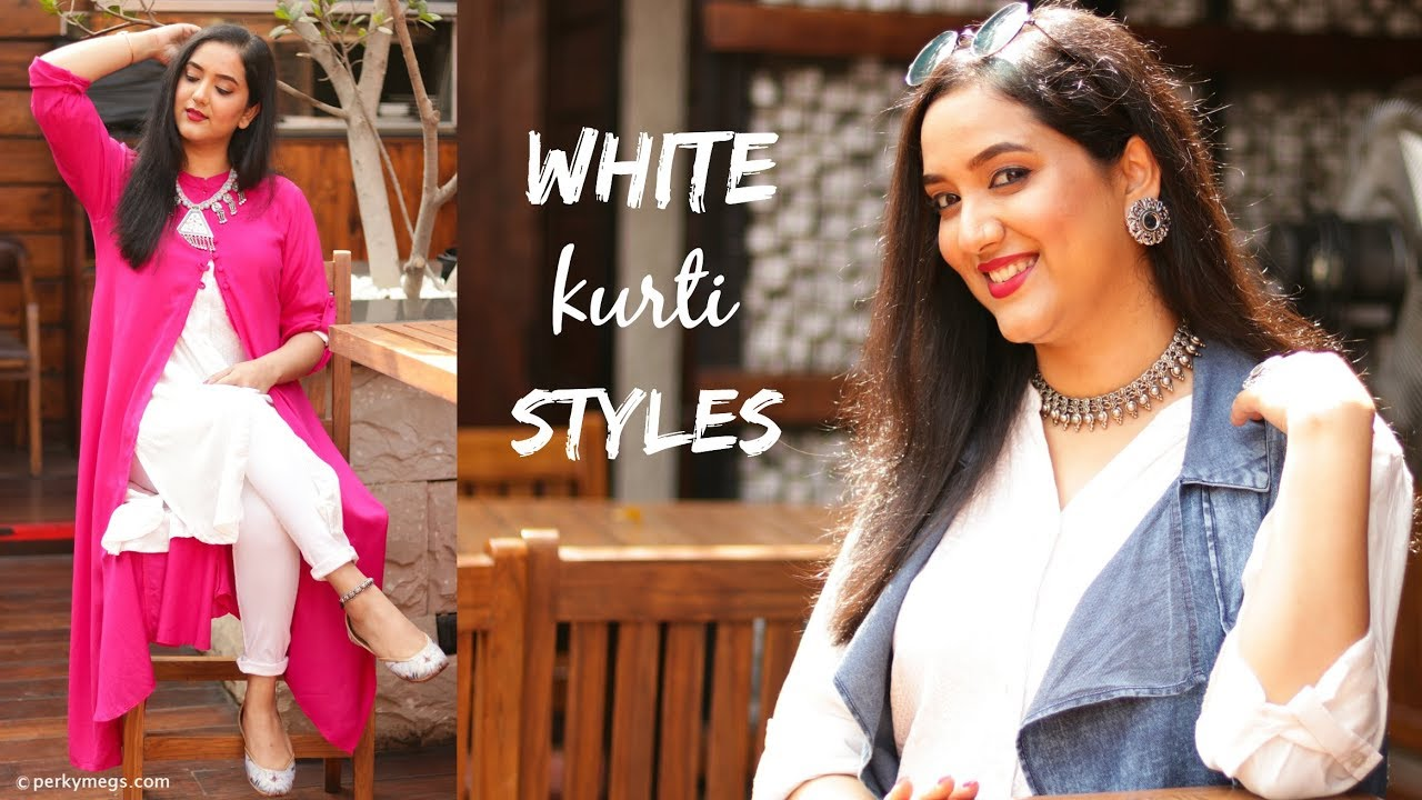 How To Style A White Kurti In Different Ways Indian Ethnic Wear