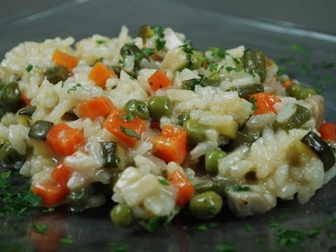 Risotto primavera - YouTube