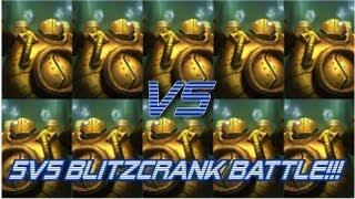 ► LoLPoV - Hilarious 5v5 All Blitzcrank Battle! (League of Legends Live Commentary)