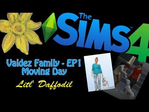 Sims4 - Valdez Family- EP1 - Moving Day |