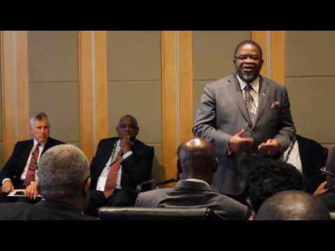 Malawi Investment Forum Mining & Energy Hon Bright Msaka SC Minister of Natural Resouces,