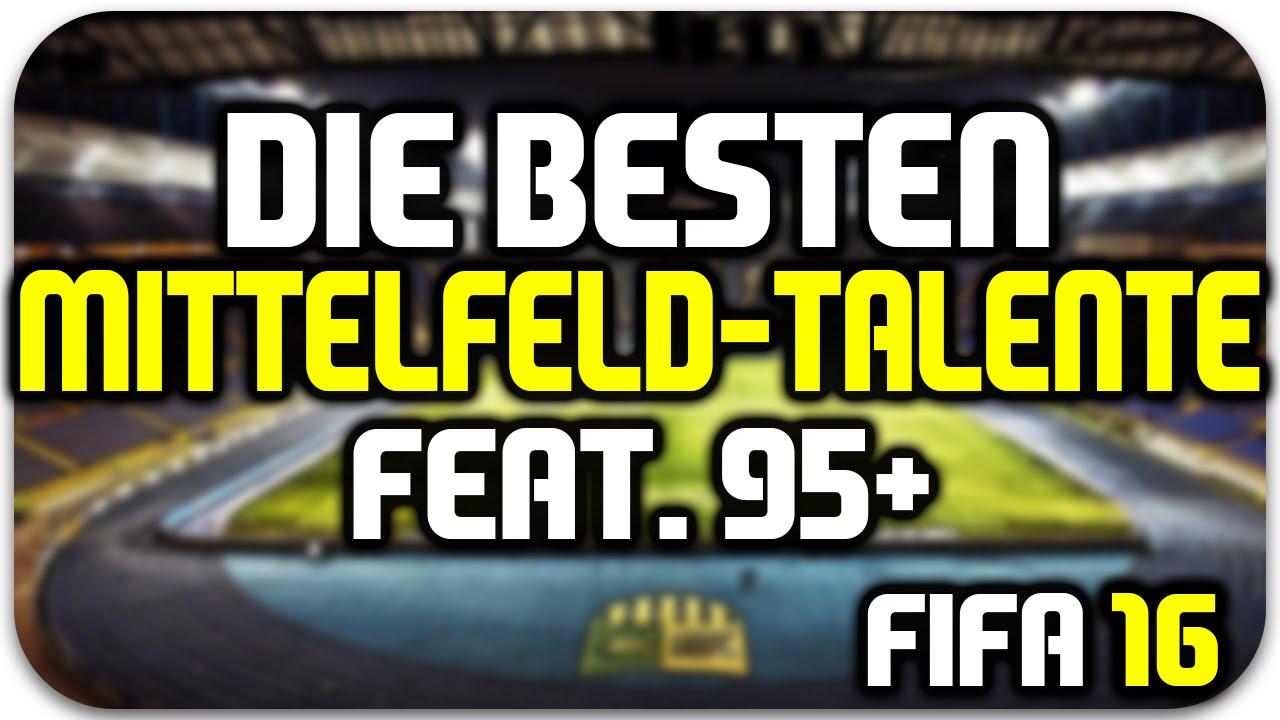 Fifa 16 Beste Mittelfeld Talente Feat 95 Potenzial