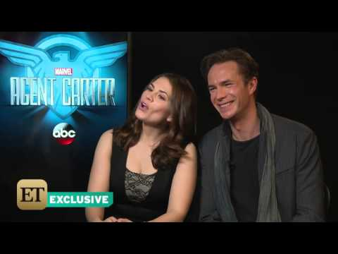 Hayley Atwell and James D´Arcy - Interview (IV) .