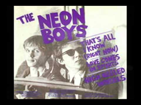 Love Comes In Spurts-The Neon Boys.mpg