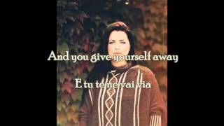 "AMY LEE - ""With or Without You"" by U2 - Testo e Traduzione Ita (Lyrics)"