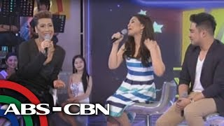 Lani, Jed perform Whitney Houston songs on 'GGV'