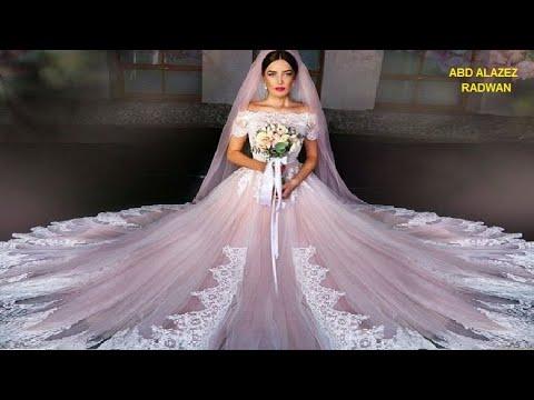 601f15a4bb890 أحلى وأجمل فستان زفاف أبيض لأجمل عروسة - Best wedding dresses .. The most  beautiful bride
