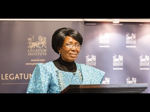 Women as Drivers of Growth: The Zambia Case Study with Her Honour, Inonge Wina
