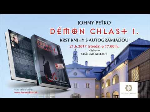 Démon chlast I. - krst knihy - CHÂTEAU Gbeľany - spot rádio Frontinus