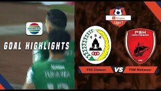 PSS Sleman (3) vs (2) PSM Makassar