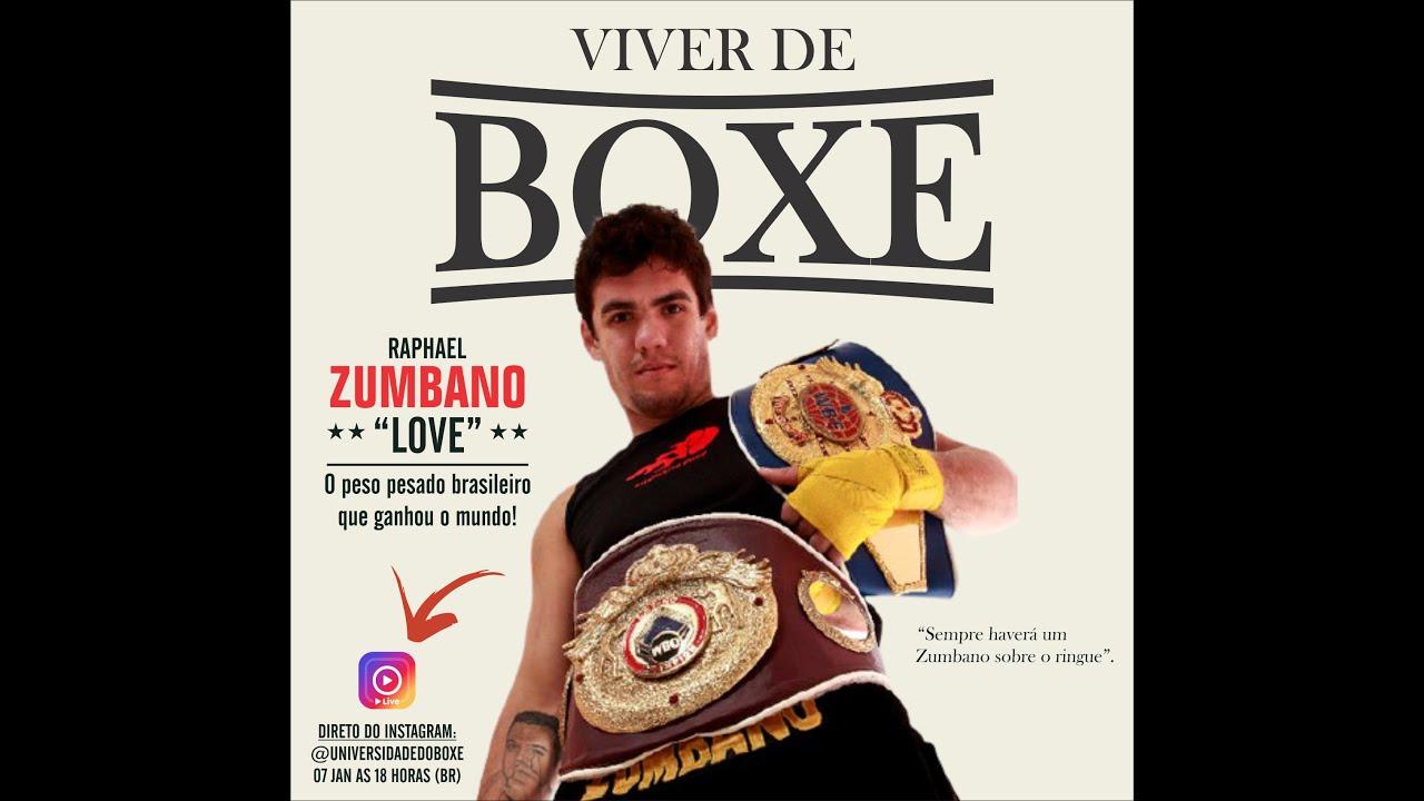 """VIVER DE BOXE: Entrevistamos a Raphael """"Love"""" Zumbano"""
