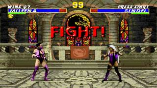 Ultimate Mortal Kombat 3 Mileena