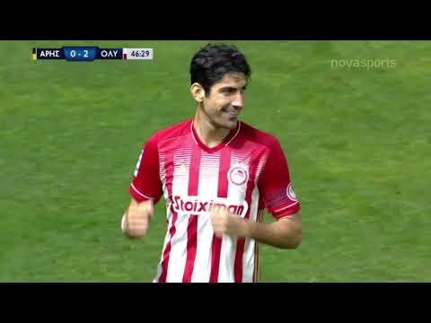 Aris Olympiakos Goals And Highlights
