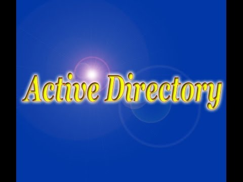 Introduction Of Active Directory