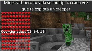 Minecraft Pero Los Subs Me Quieren Matar Y Los Crepers...