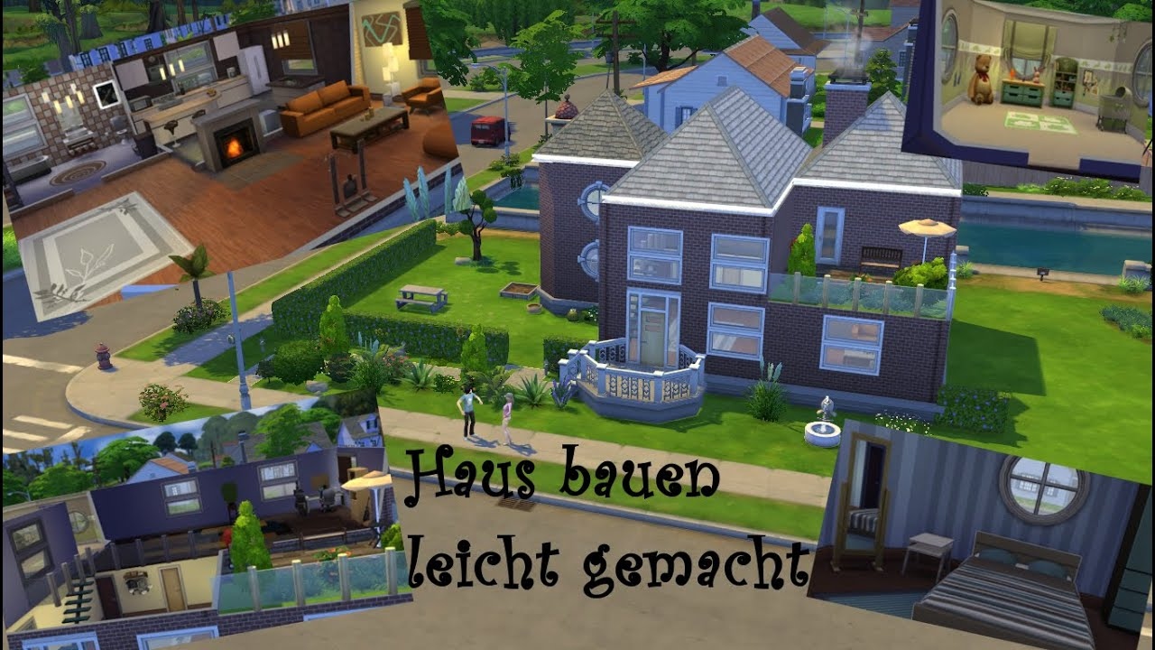 let s tutorial die sims 4 2 haus bauen leicht gemacht 2 deutsch youtube. Black Bedroom Furniture Sets. Home Design Ideas