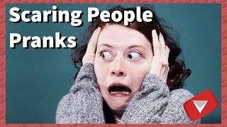 Funny Scaring People Pranks Compilation [2017] (TOP 10 VIDEOS) thumbnail