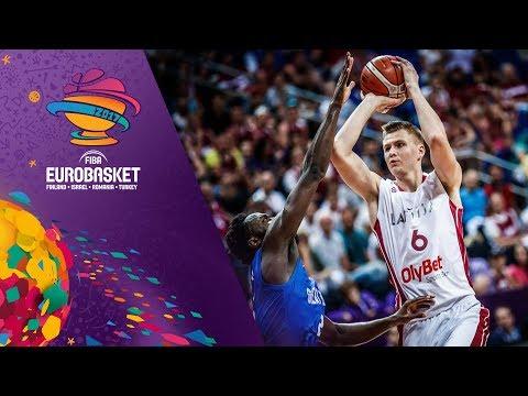 Latvia v Great Britain - Full Game - FIBA EuroBasket 2017