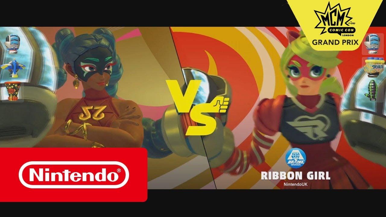 ARMS - MCM Grand Prix Loser's Final: Esthri vs TMo_Genius (Nintendo Switch)