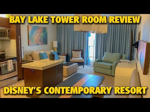 Bay Lake Tower Room Review | Disney's Contemporary Resort | Walt Disney World