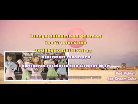 Ice Cream Cake - Red Velvet (Karaoke/Instrumental)