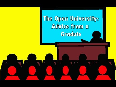 The Open University: Advice from a graduate