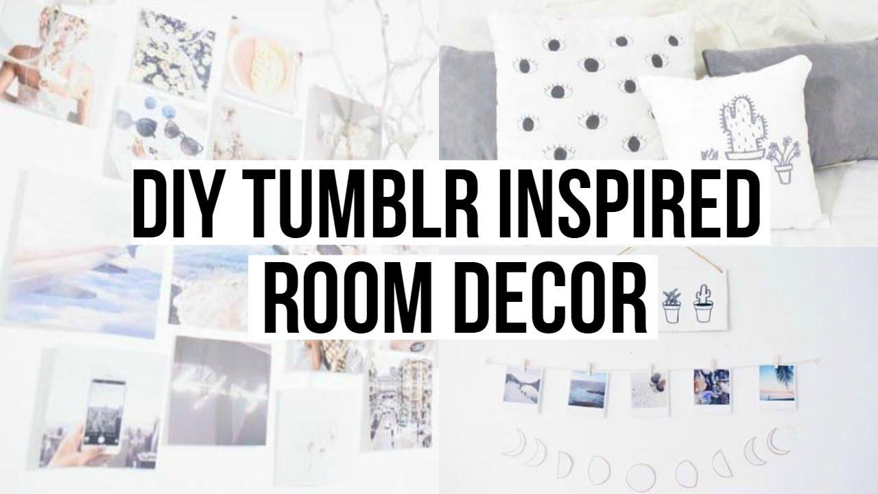 DIY ROOM DECOR TUMBLR INSPIRED YouTube