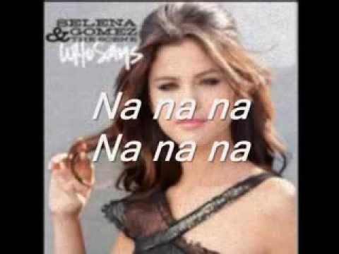 Who Says  - Selena Gomez [traducida al español]
