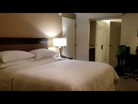 Hotel Room Tour Sheraton San Jose Room 424 – July 2017