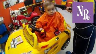 VLOG Детская парикмахерская Кеша Хороший Детская стрижка для Ярика Children's hairdresser(Всем ПРИВЕТИКИ!!! Сегодня мы ведем братика в парикмахерскую. Но это не обычная парикмахерская, а ДЕТСКАЯ!..., 2016-03-13T07:57:58.000Z)