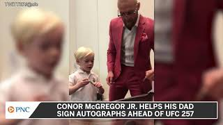 Conor McGregor Has Taken To Training His Son At A Very Early Age