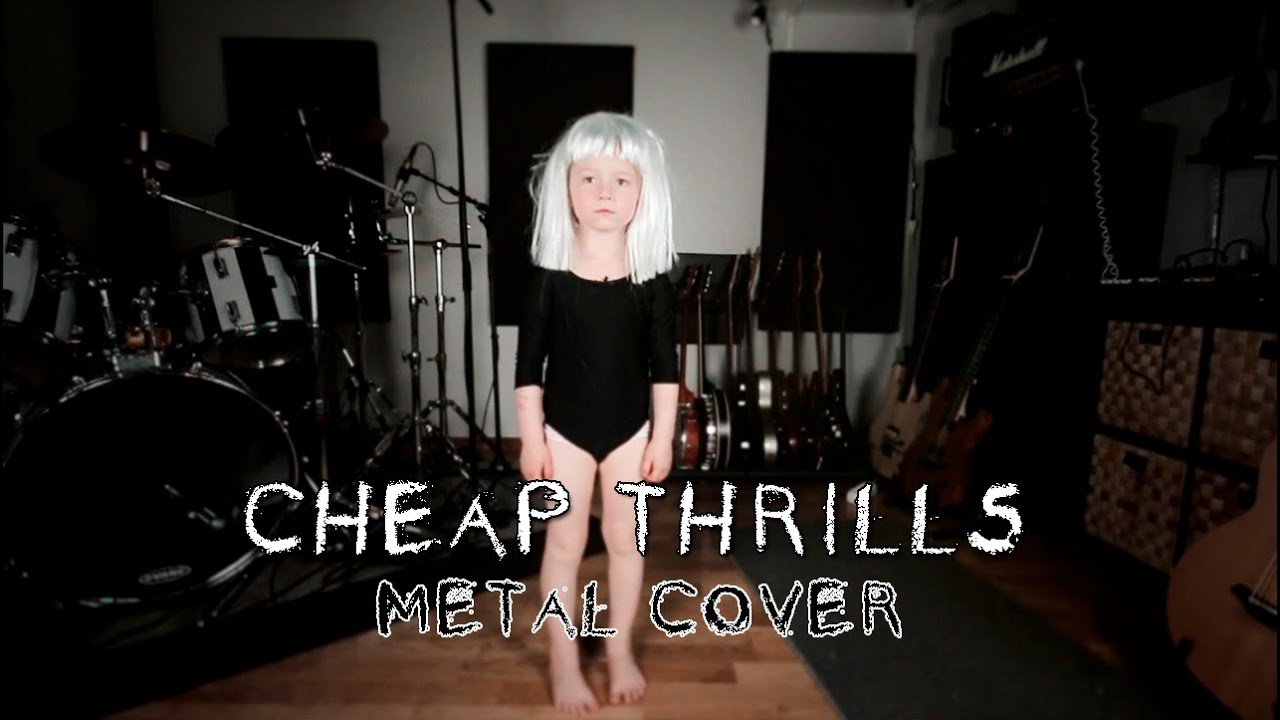 sia-cheap-thrills-metal-cover-by-leo-moracchioli-frog-leap-studios