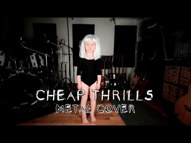 Sia - Cheap Thrills (metal cover by Leo Moracchioli)