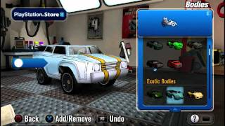 Modnation Racers Vita First Impressions [GigaBoots.com]