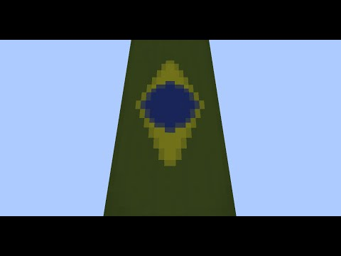 how to make the flag of venezuela in minecraft