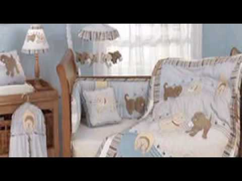 Scruffy Puppy Dog Boys Crib Bedding And Accessories You