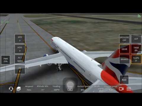 Inifite Flight Live ATC: Longbeach Airport (KLGB) - (KLAX) LAX International BA757-200 (1080pHD)