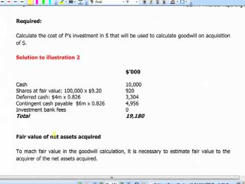 ACCA F7INT - 10. Group financial statements incl. associates