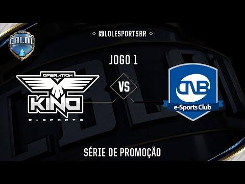 OPK x CNB (Jogo 1 - Série de Promoção - Dia 2) - CBLoL 2017