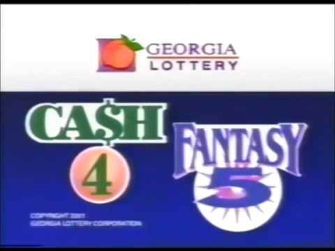 Georgia Lottery Cash 4 And Fantasy 5 Drawings October 4, 2001