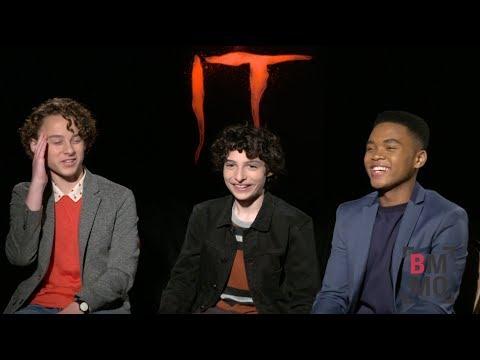 Finn Wolfhard, Wyatt Oleff, & Chosen Jacobs Interview - It