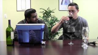 What happens when you pour wine in a ZeroWater Pitcher?