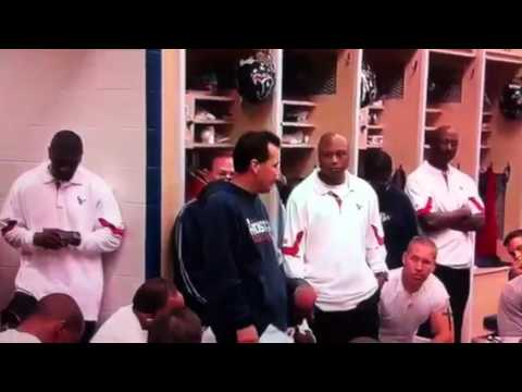 Andre Johnson vs Cortland Finnegan PostGame GameBall