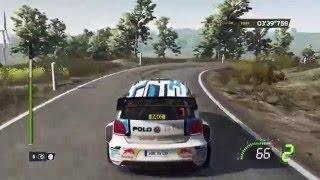 WRC 5 FIA World Rally Championship PS4-Rallye Catalunya