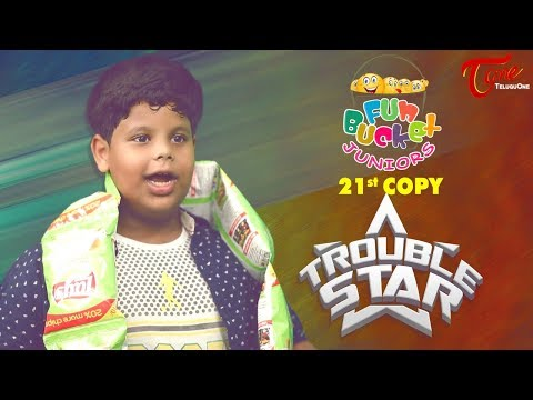 Fun Bucket JUNIORS | Trouble Star | Episode 21 | Kids Funny Videos | Comedy Web Series