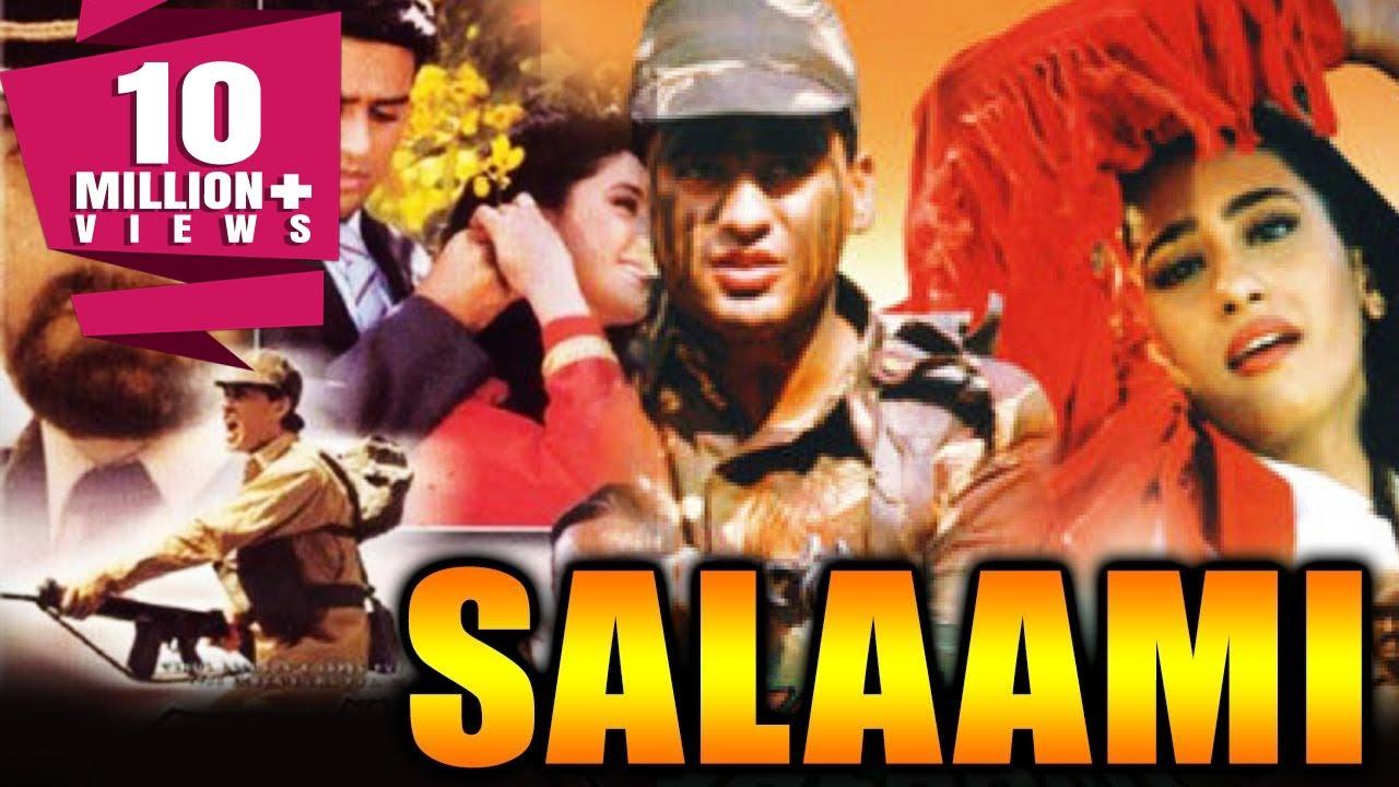 Download Salaami (1994) Full Hindi Movie   Ayub Khan, Roshini Jaffery, Kabir Bedi, Goga Kapoor, Saeed Jaffrey