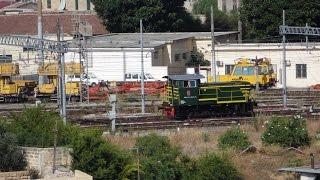 ICN 785/781 Trenitalia da MILANO CENTRALE, manovre con D245.2104 rimessato